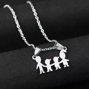 Custom order! Stainless steel Family necklace